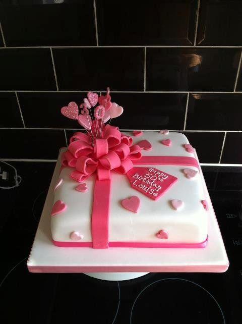 Girly Girl Turning 30 Cake