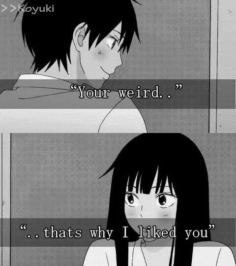 Cutest Romantic Comedy Kimi Ni TodokeManga QuotesAnime