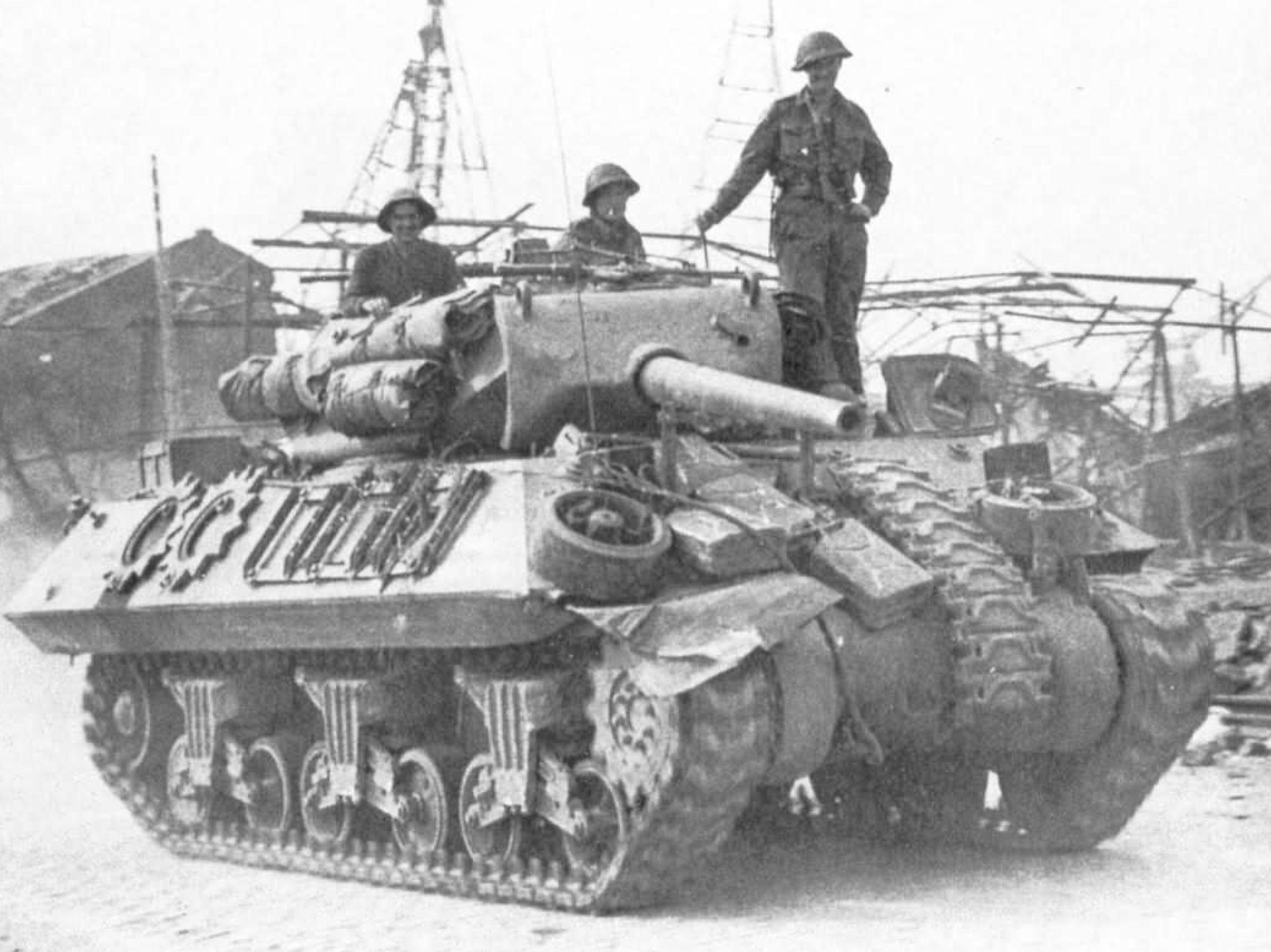 M10 Tank Destroyer American Tank British Tank