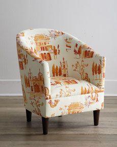 H6TE0 Tangerine Tub Chair