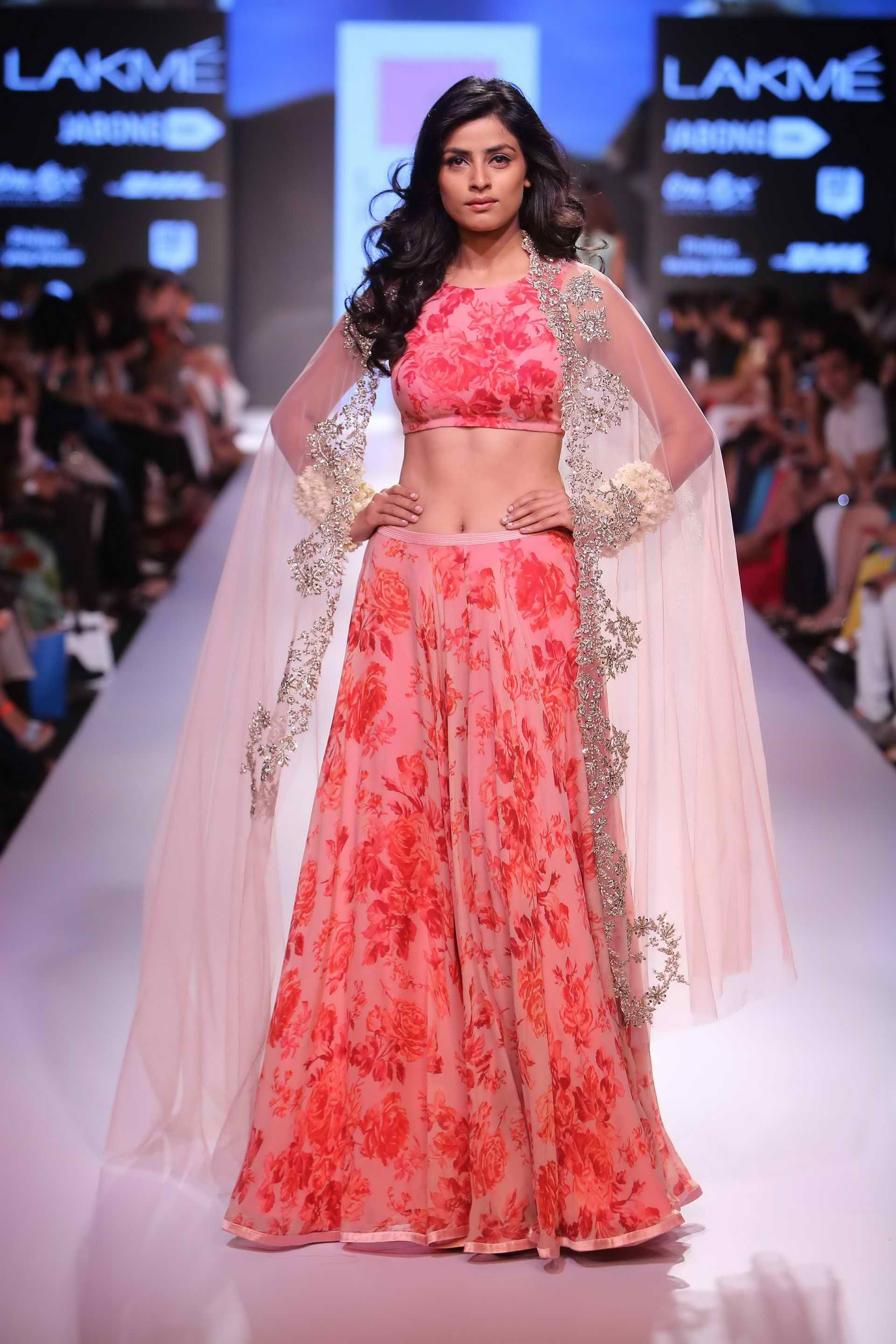 Anushree Reddy showcasing her latest LFW collection at Bridal Asia ...