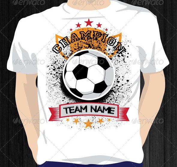 20 Cool T Shirt Design Vectors For Soccer Football T Shirt Design Vector Shirt Designs Tshirt Designs