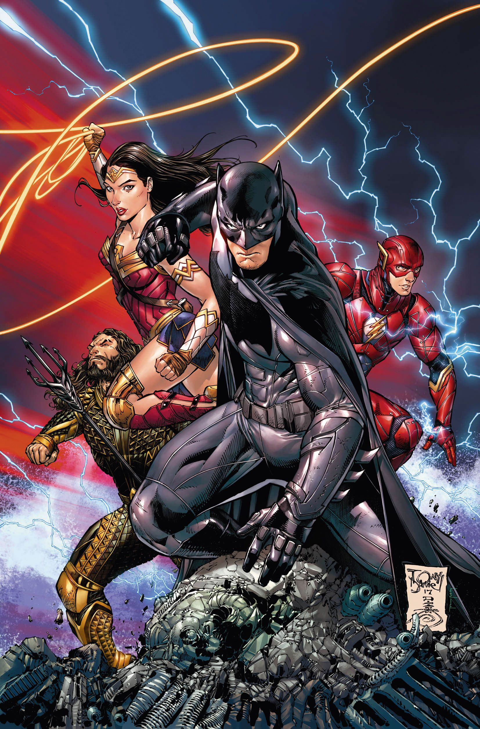 What its like to be a Batman artist: Tony S Daniel shares his story