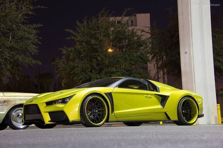 Infinity Based Exotic Body Kit Vaydor Dream Cars