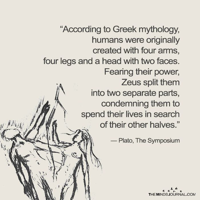 According To Greek Mythology Humans Were Originally Created With 4