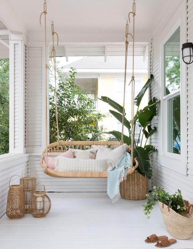 15 hammocks porch swings for lazy summer afternoons on porch swing ideas inspiration id=99037