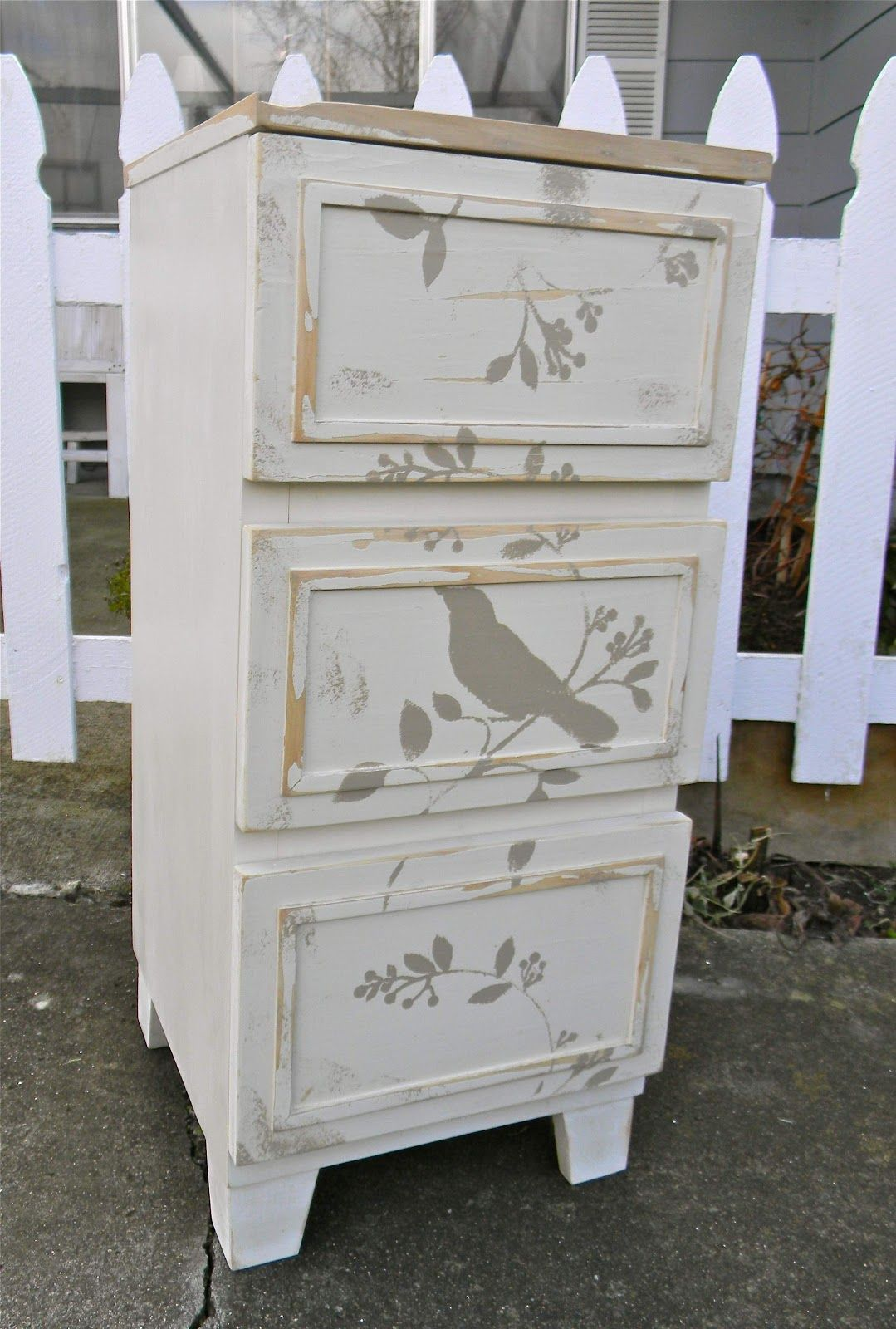 Emily S Up Cycled Furniture Tall Blue Grey Distressed Dresser: Emily's Up-cycled Furniture
