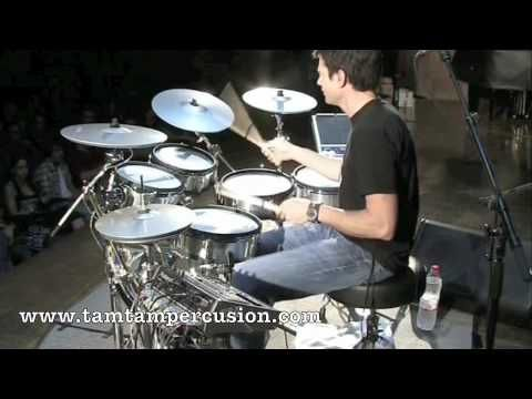 Cool Drum Solo By One Of My Favorite Drummers Johnny Rabb With