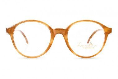 Jeunesse Toujours, runde Brille honigfarben, honig