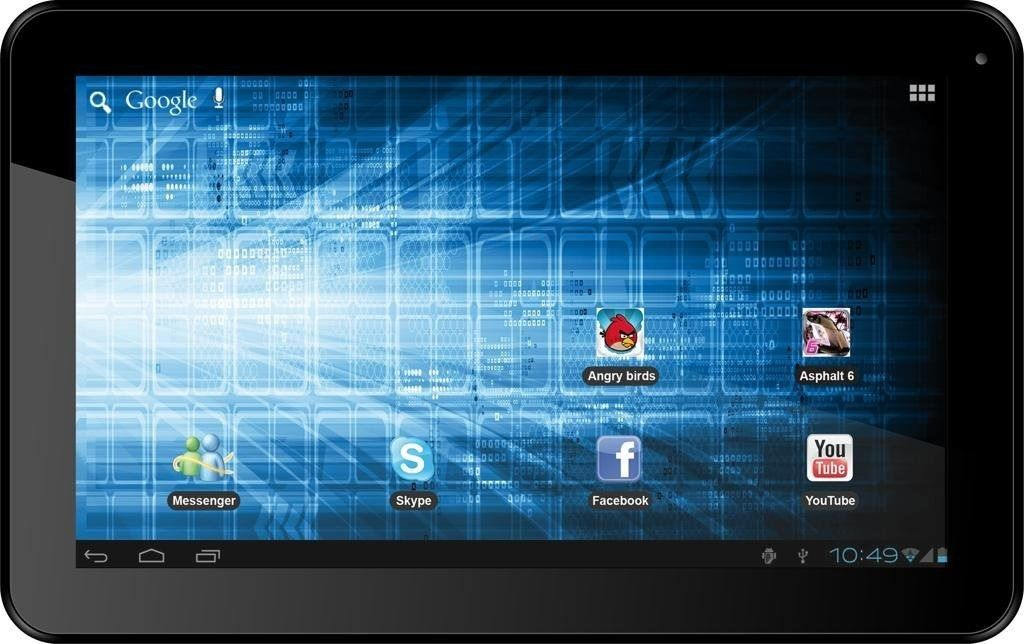 Storex eZee Tab 1002 Tablet, Tab, Detection