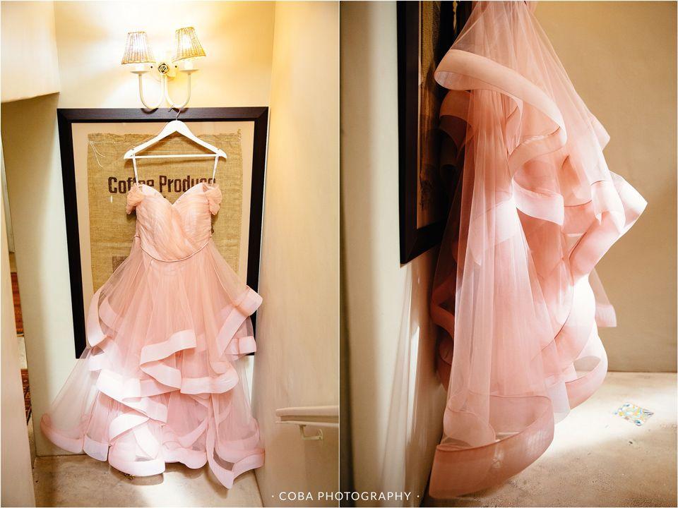 Pink Wedding Dress. .Wedding Photos Ideas. Wedding At