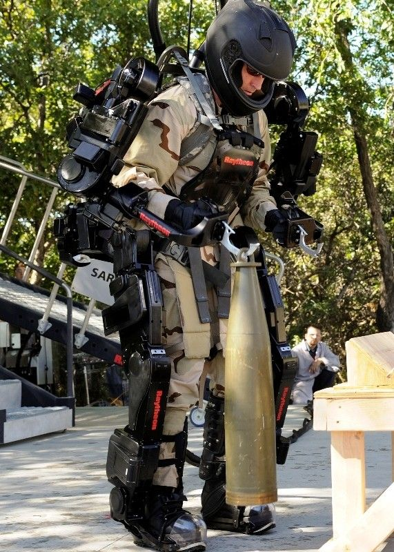 exoskeleton augments human abilities reducing muscle fatigue by 300 rh pinterest com au