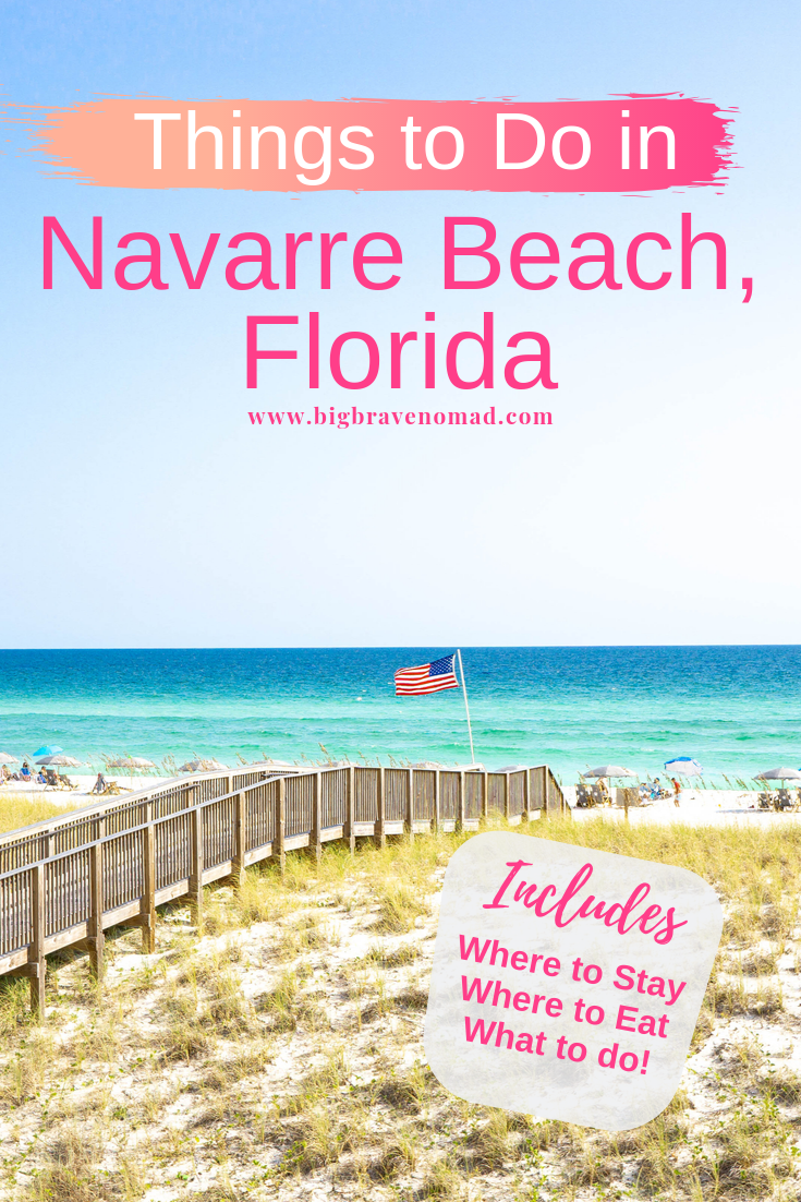 Everything You Need For A Relaxing Trip To Navarre Beach In Florida Big Brave Nomad Relaxing Travel Navarre Beach Beach Vacation Travel