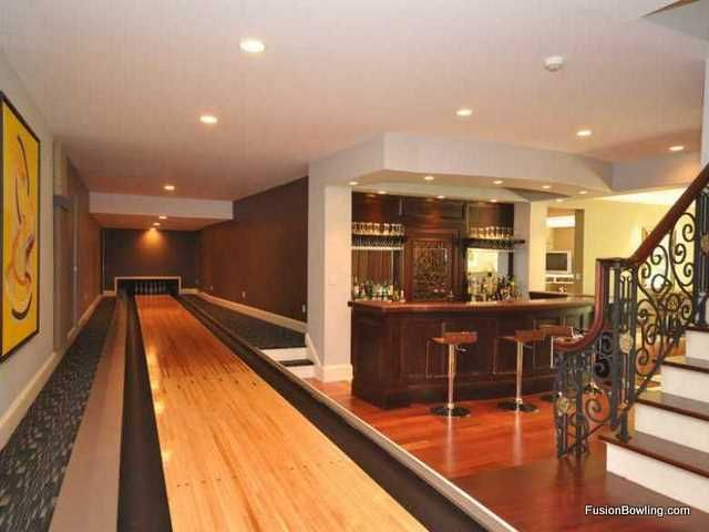 I M Saving Up To Put A Bowling Alley In My House Like This