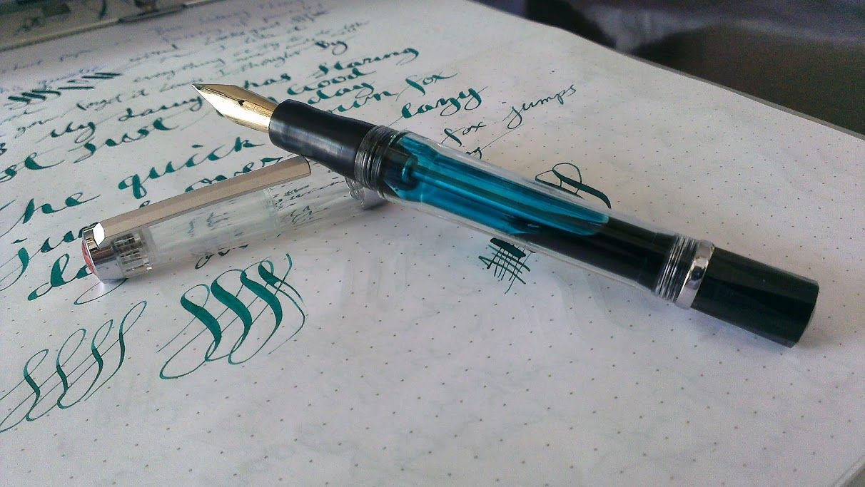 Robinson section feed and nib--medium