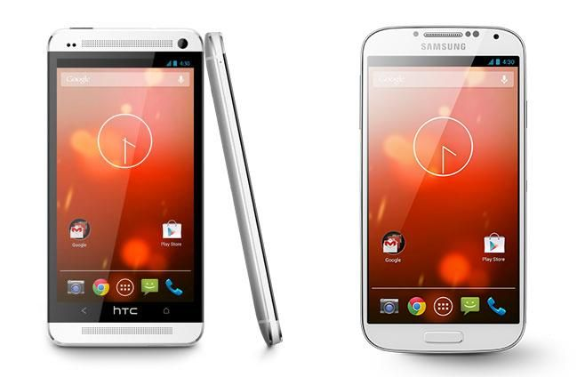 Google Play edition Galaxy S 4 and HTC One arrive for sale | Pocketnow