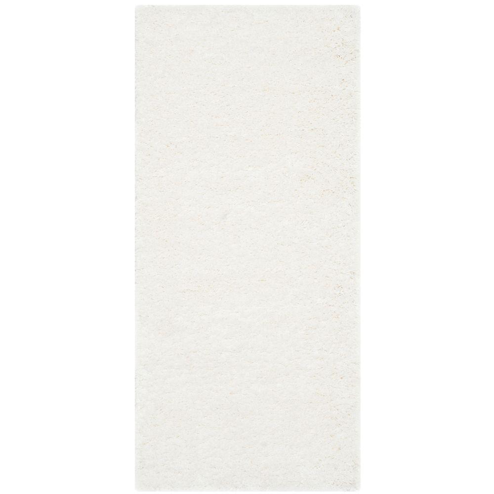 Safavieh California Shag White 3 ft. x 5 ft. Area Rug-SG151-1010-3 - The Home Depot #gesso