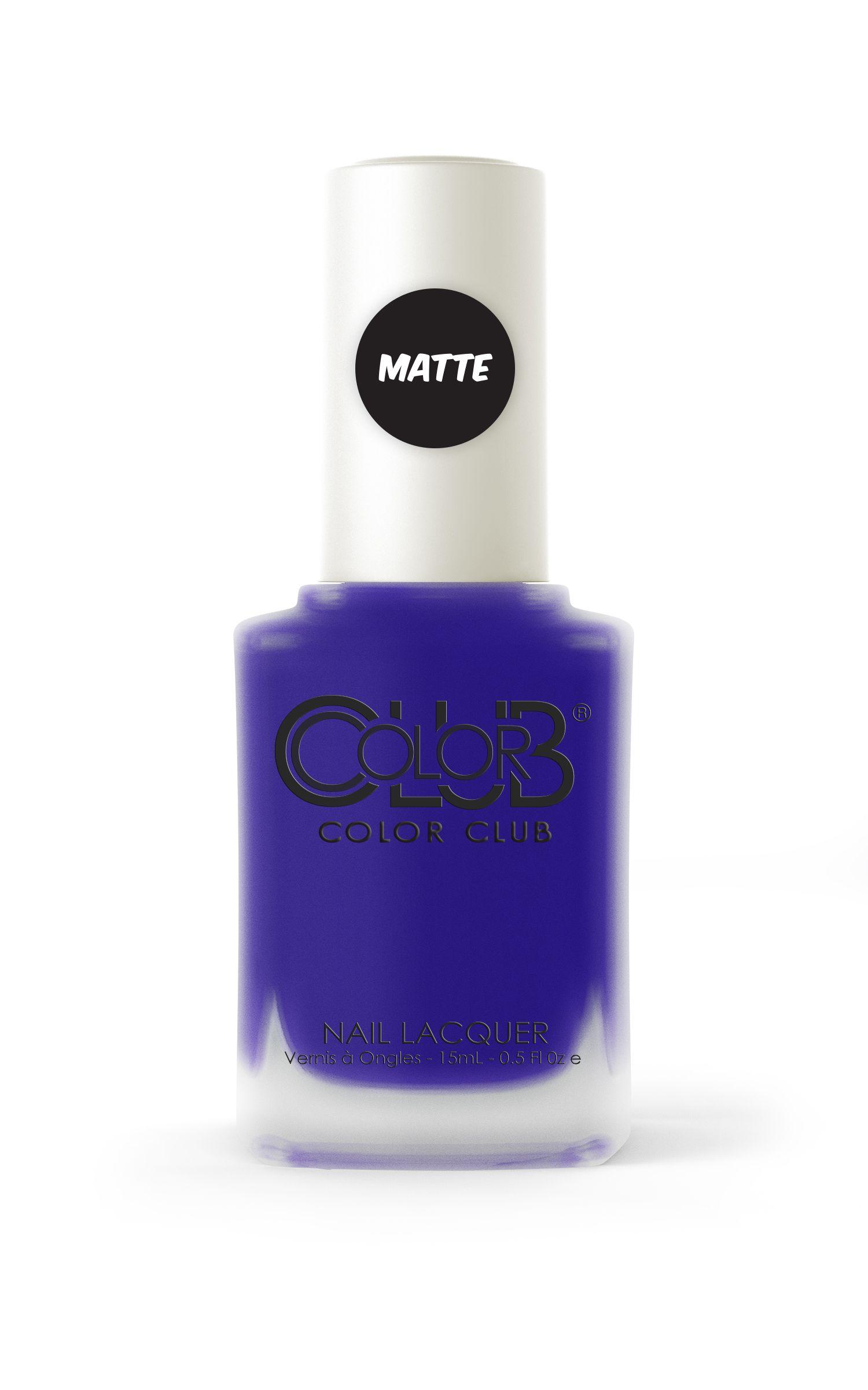 Color Club Nail Lacquer Matte Collection NO CURFEW #colorclub ...