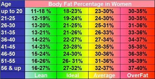 Health Risks Associated with a Low Body Fat Percentage