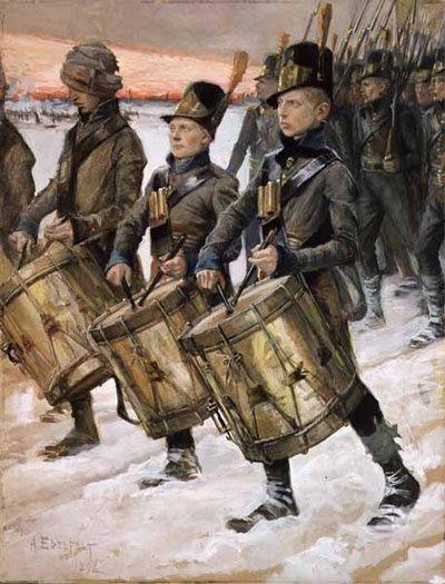 """Edelfelt maalasi vuonna 1892 syksyllä teoksen """"Porilaisten marssi"""". Vuoden 1893 tammikuussa Edelfelt oli Imatrankoskella maalaamassa talvikuvia Akseli Gallen-Kallelan, Louis Sparren ja Adolf von Beckerin seurassa. Hän maalasi lukuisia muotokuvia Larin Paraskesta, inkeriläisestä runonlaulajasta."""
