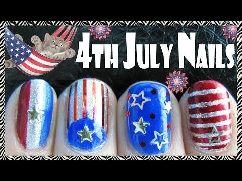 4th of july independence day nails meliney nail art tutorial 4th of july independence day nails meliney nail art tutorial youtube prinsesfo Gallery