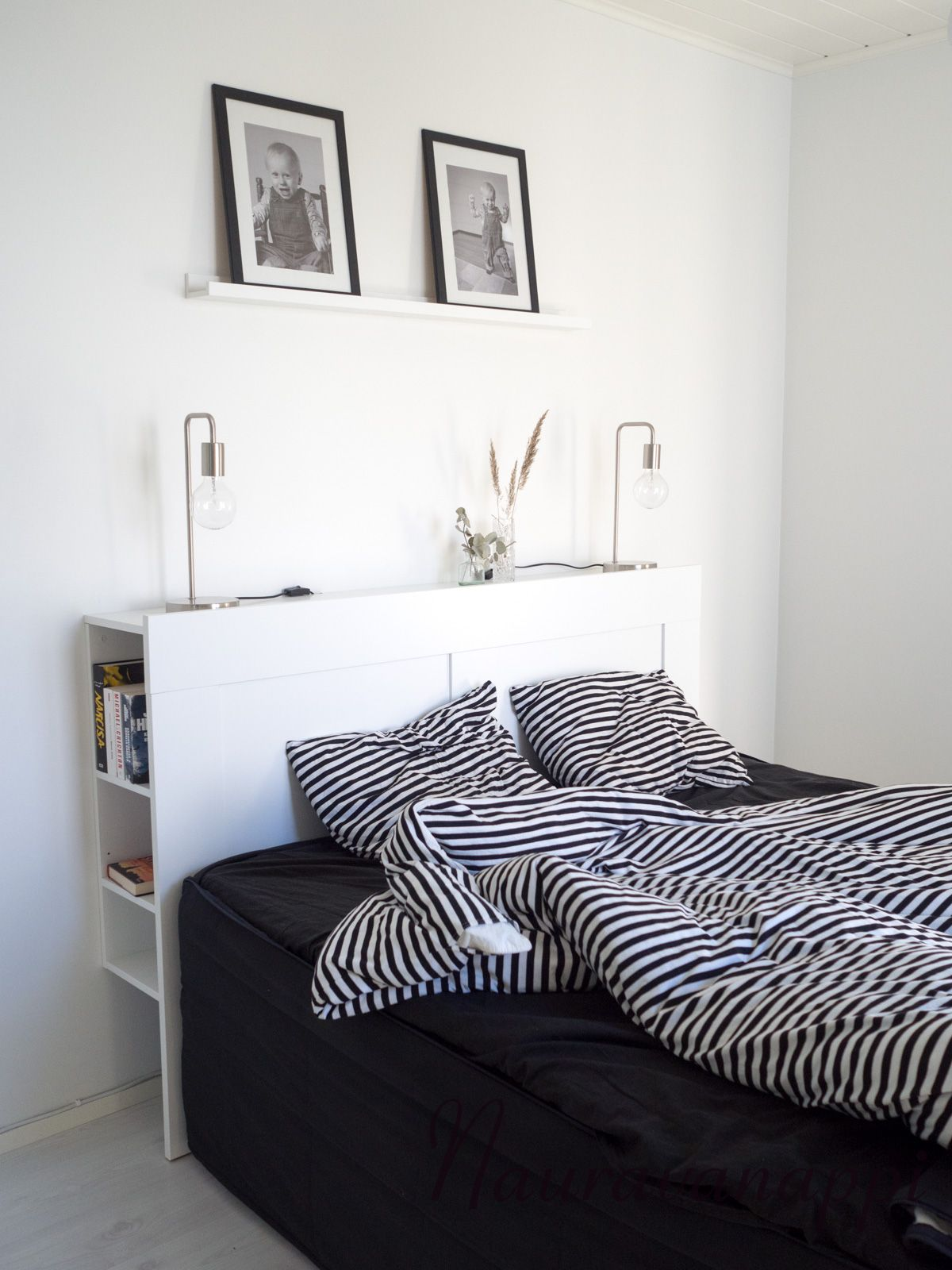 Marimekko Tasaraita Ikea Brimnes Sangynpaaty Ikea Bed Home Bedroom Brimnes Bed