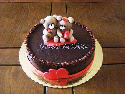 Valentine's Day Cake  Bolo São Valentim