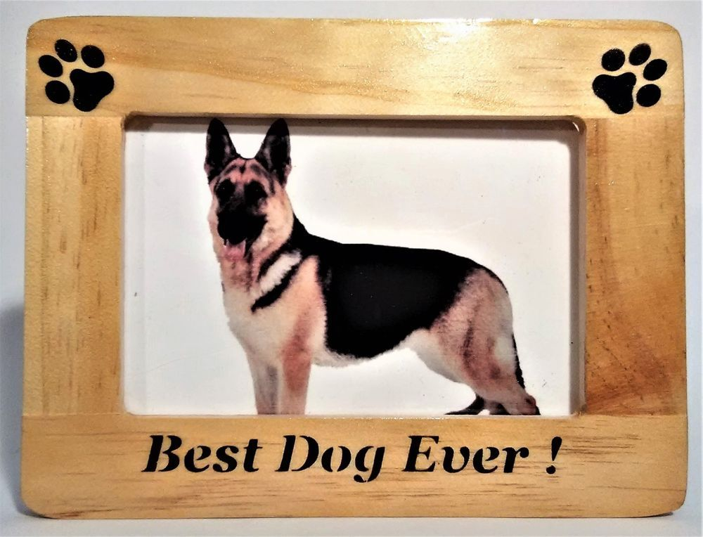 Pet Picture Frame Photo Frame Dog Gifts German Shepherd Best Dog