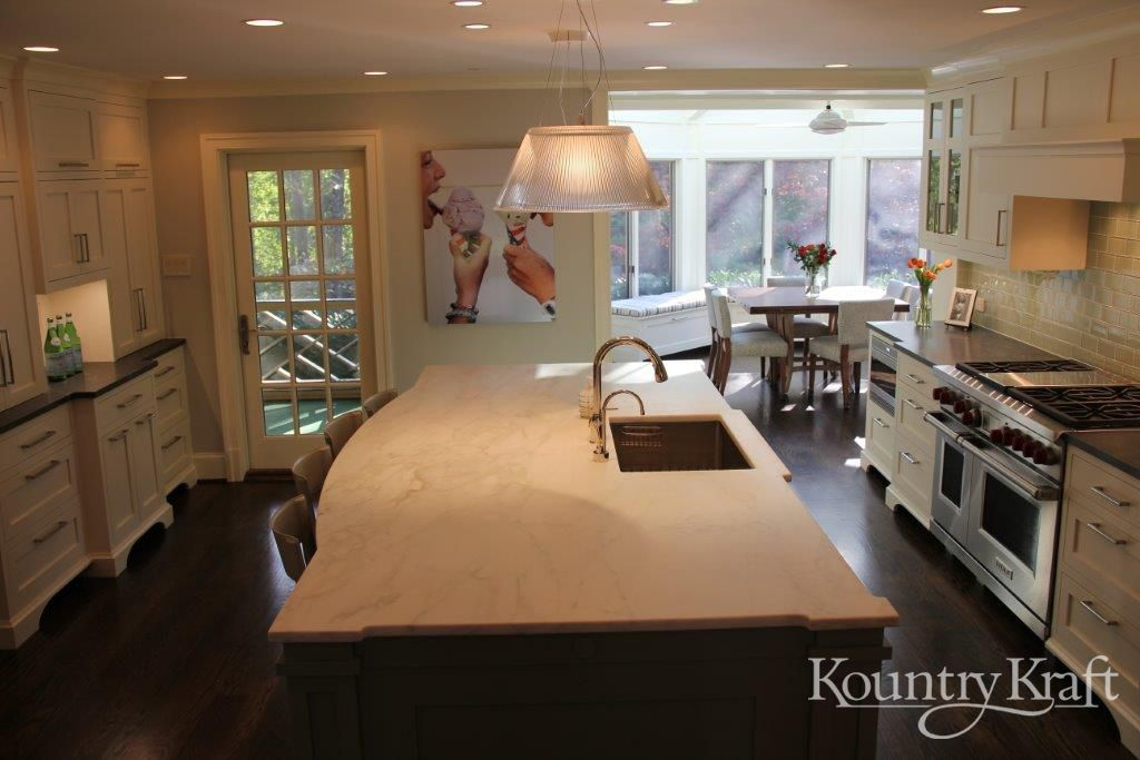 Custom Kitchen Cabinets designed by Bradford Design LLC in Bethesda ...