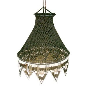Another beautiful crochet lamp!