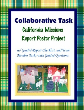 California Missions Group Research Project Team Task