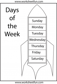 days of the week, freebie | English worksheets for kids ...