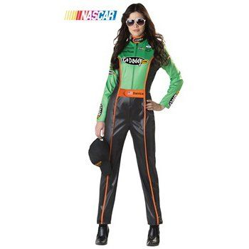 kids and adults nascar race car driver halloween costumes like danica patrick jeff gordon kyle busch and dale earnhardt jr