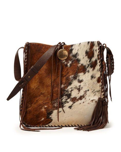 Spotted Haircalf Hobo Bag - Ralph Lauren New Arrivals - RalphLauren ... 326270702e03e