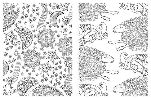 Posh Adult Coloring Book: Soothing Designs for Fun & Relaxation ...