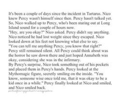 Percy Jackson Headcanons This Is A Really Sweet