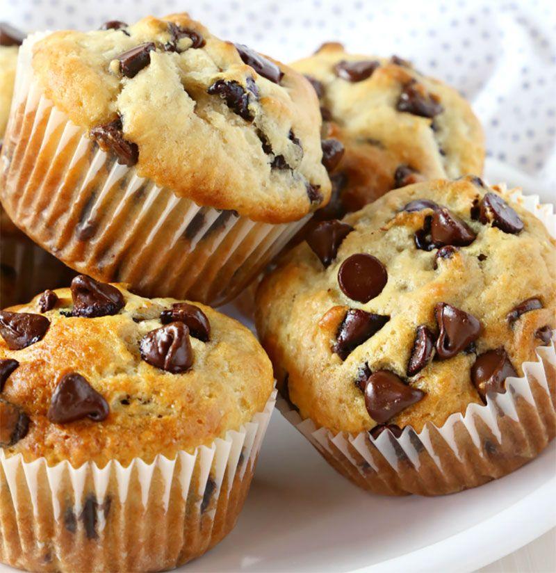 Voici la recette des muffins aux pépites de chocolat avec Thermomix, facile à préparer et on p ...