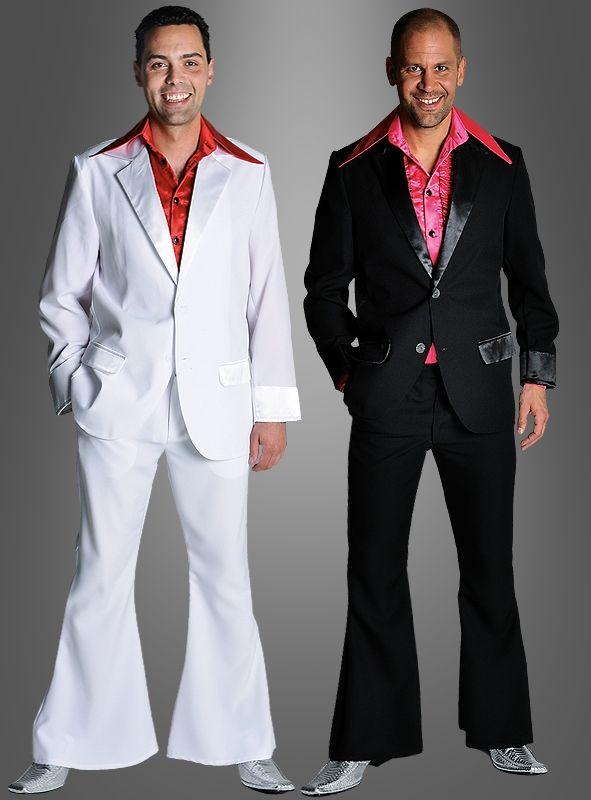 Disco Anzug Nightfever Herrenanzug Karnevalkostum Anzug Herren