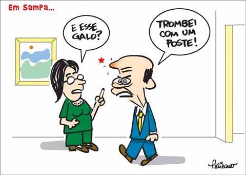 Serra perde para poste de Lula