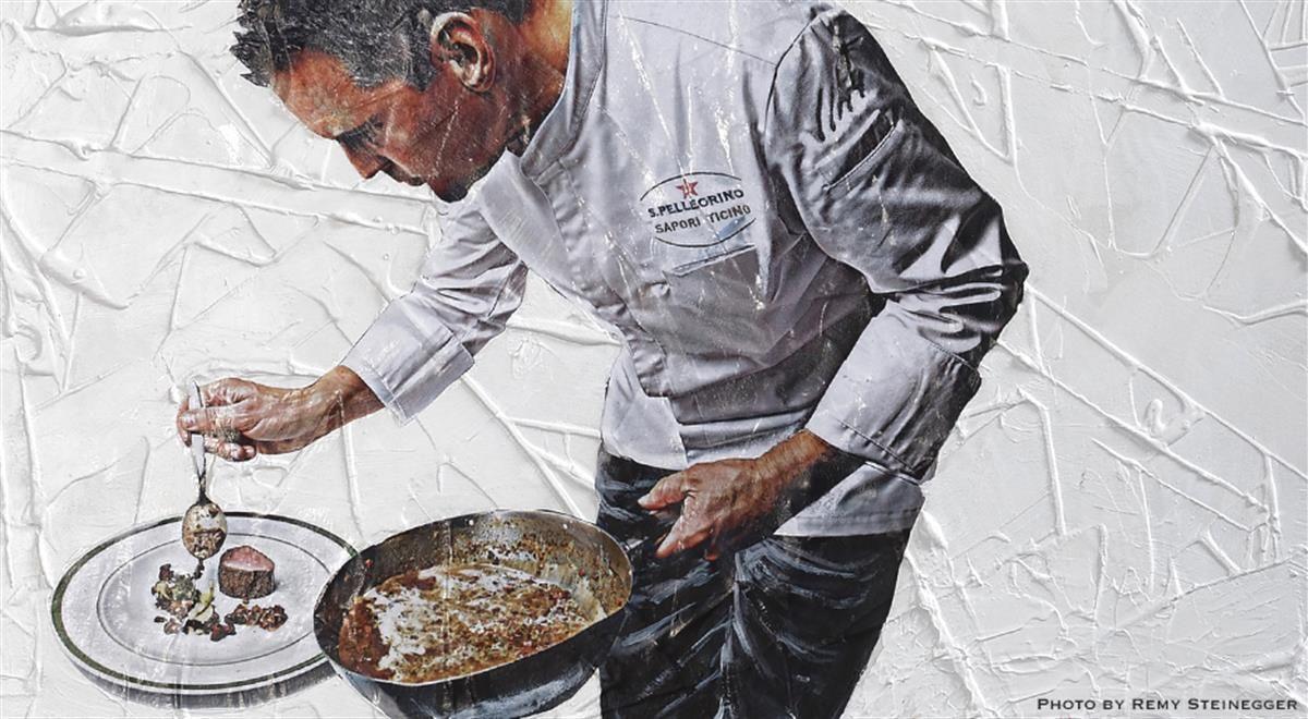 A Chef S Touch From S Pellegrino Sapori Ticino 2017 Best Chef