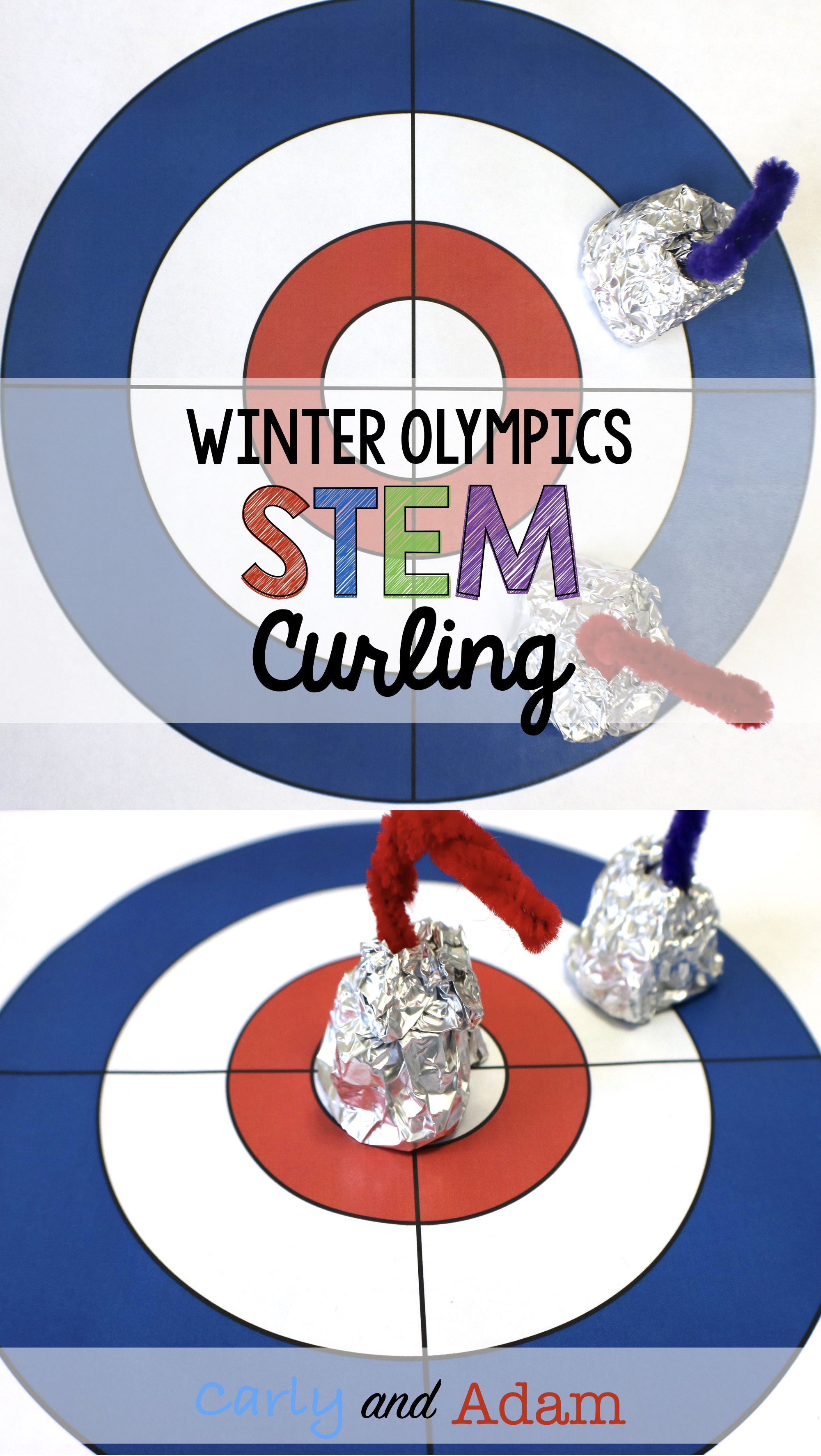 Curling Winter Games Stem Activity