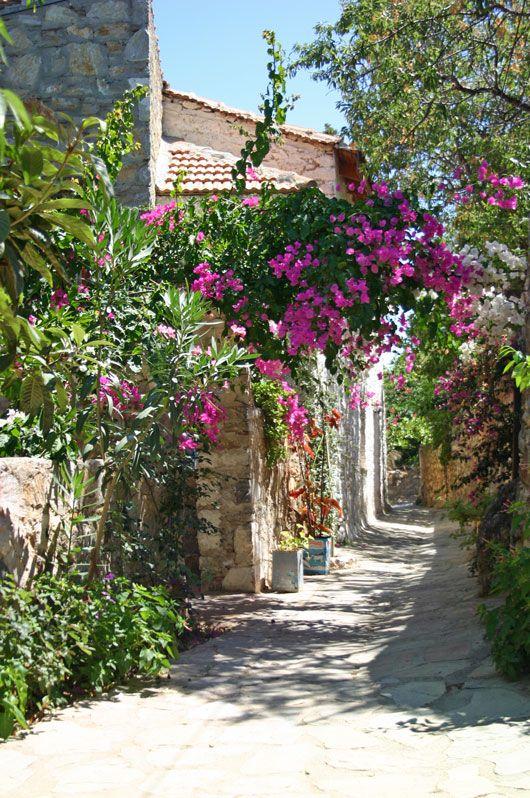 The Datca's Streets.. Datcha, Mugla, Turkey. http://cruiserswiki.org/