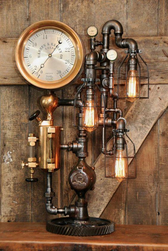 Magnificent Steampunk Lamp Cool In 2019 Steampunk Furniture
