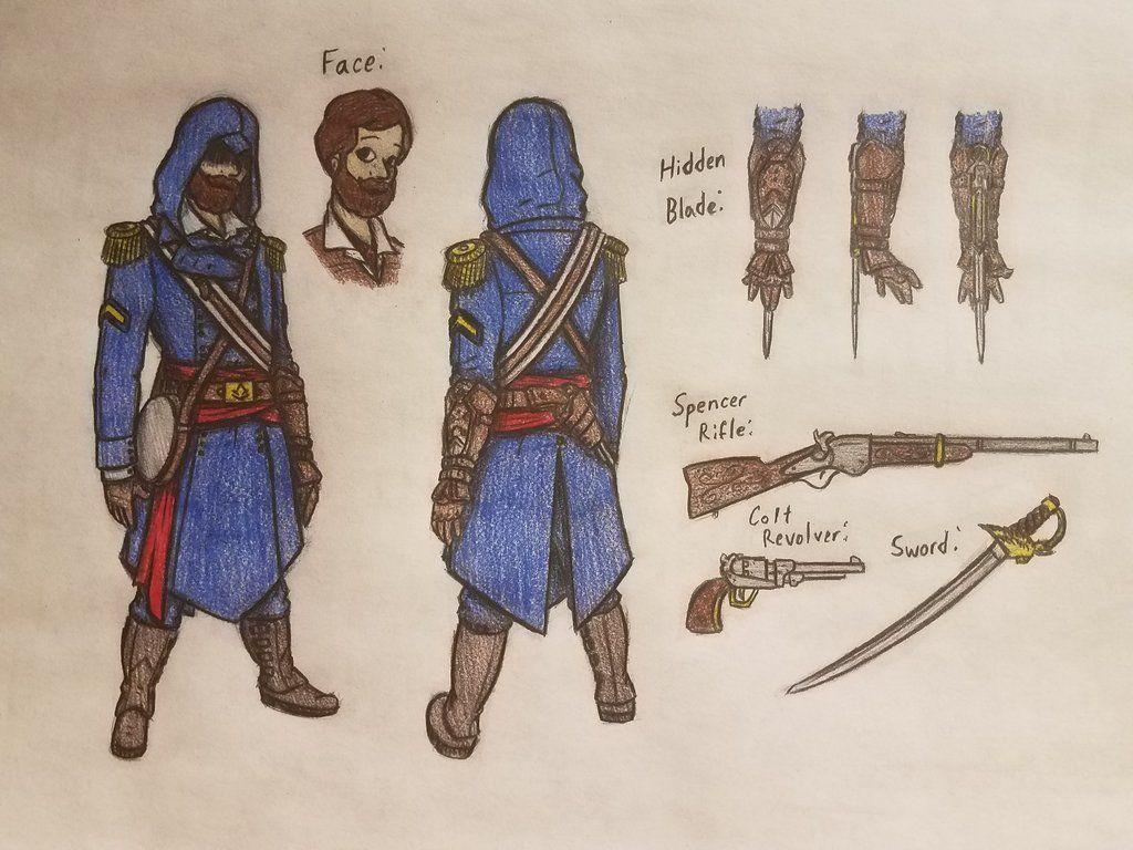 James David Spainhower By Moderndavinci Assassins Creed Artwork Assassins Creed Art Assassin S Creed