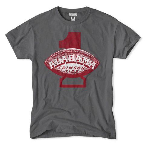 Alabama Football #1 Tee