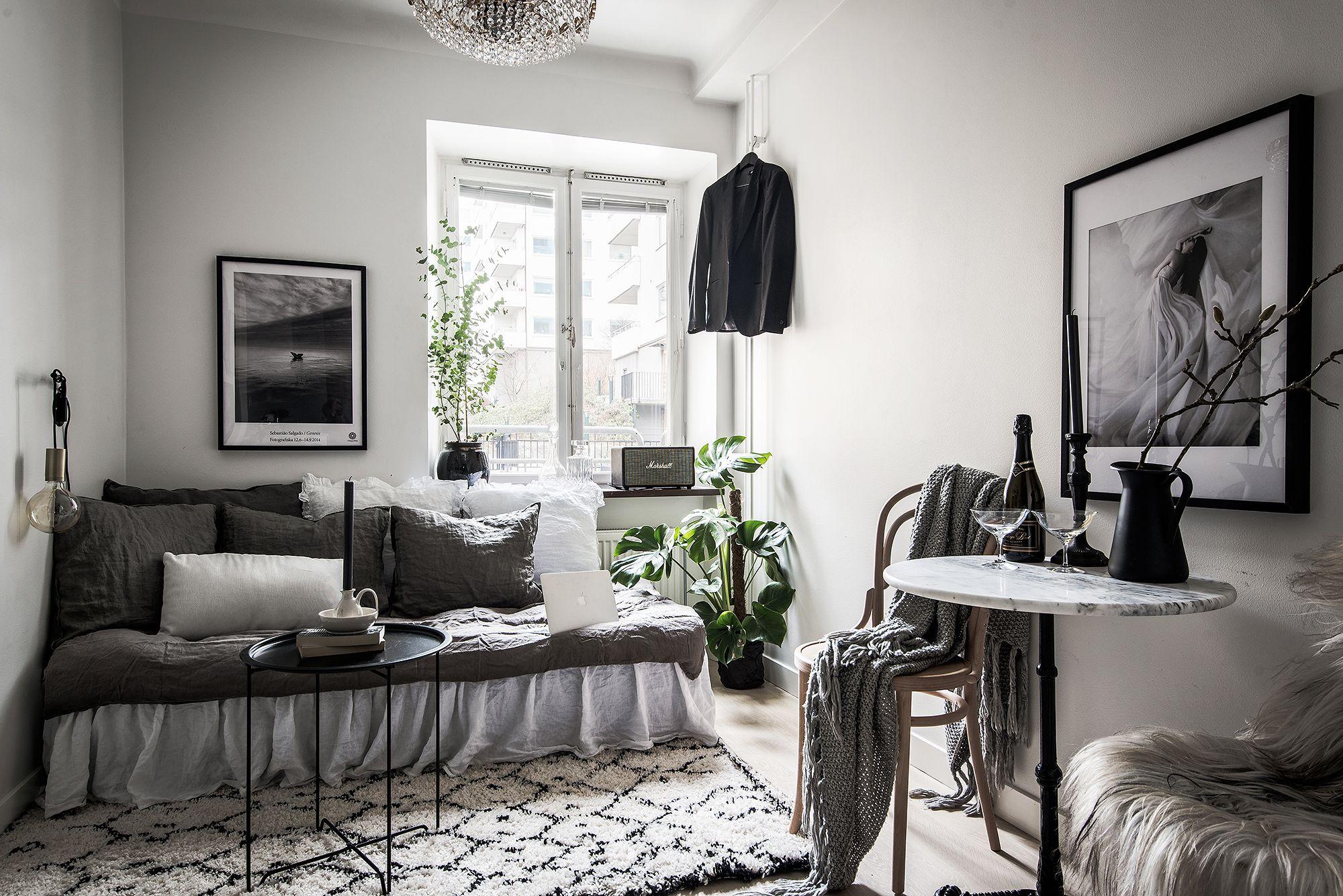 Pin By Emma Kjellander On Home Studio Apartment Decorating Small Apartment Decorating Apartment Design