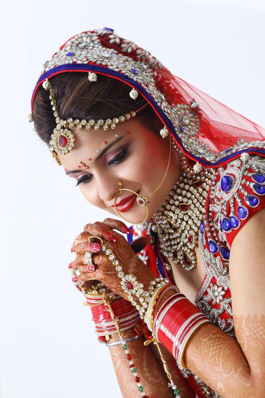 Best Bridal Make up in Delhi Indian wedding photography