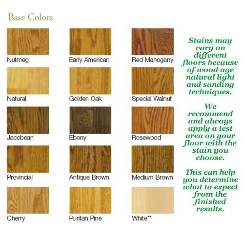 Paper Bag Floors On Concrete: Oak Wood Floor Stain Colors - Google Search
