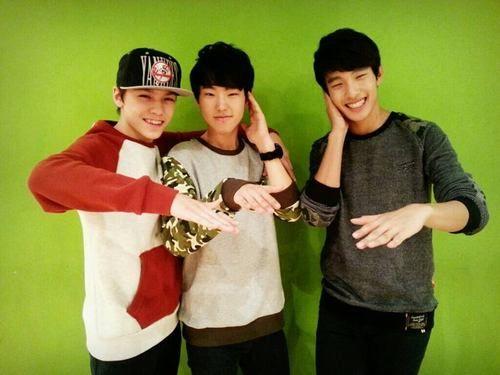 Hansol, Soonyoung, Seokmin ~Seventeen pledis boy group