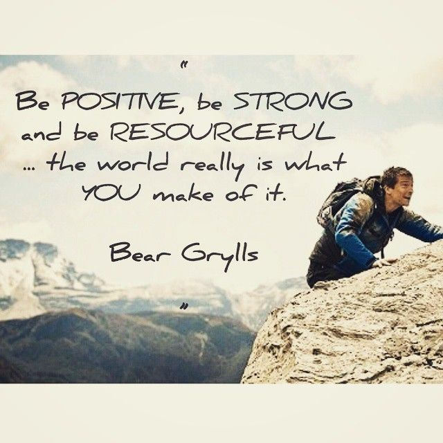 Inspirational Survival Quotes: Pin By Gryllers.com On Bear Grylls Quotes